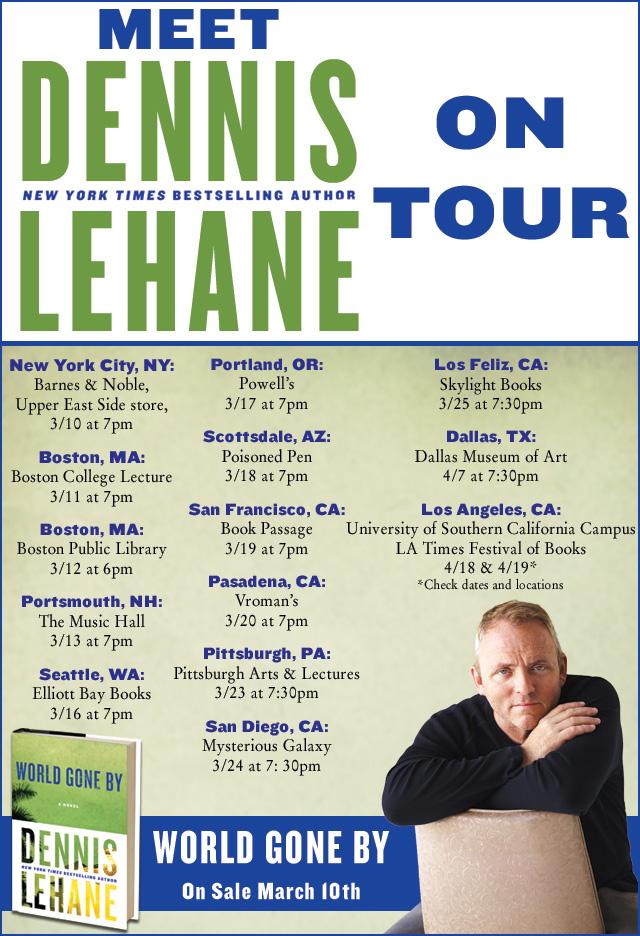 Dennis's World Gone By Tour Schedule